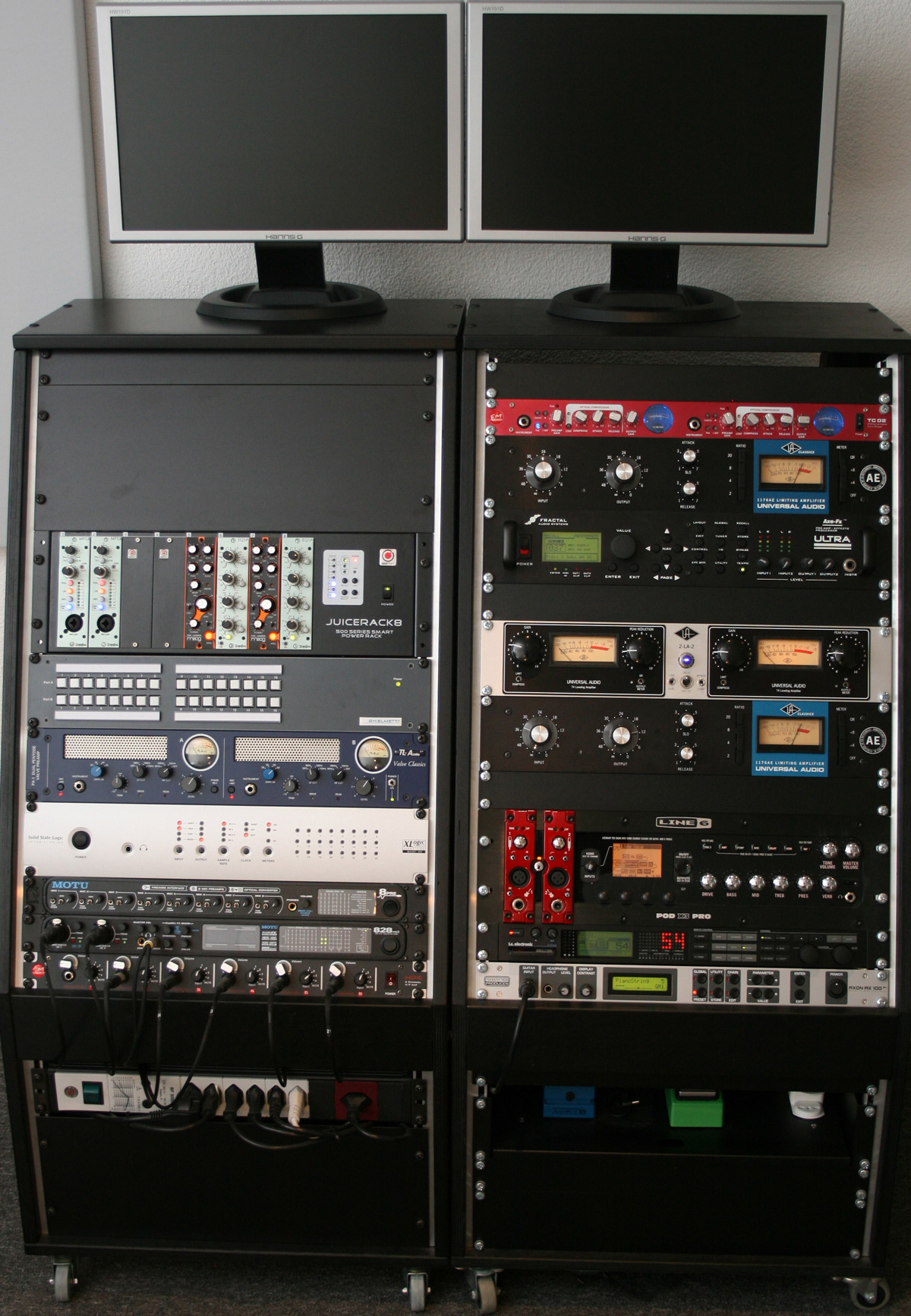 Soundfabrik Rack 2 / Hardware - soundfabrik.ch